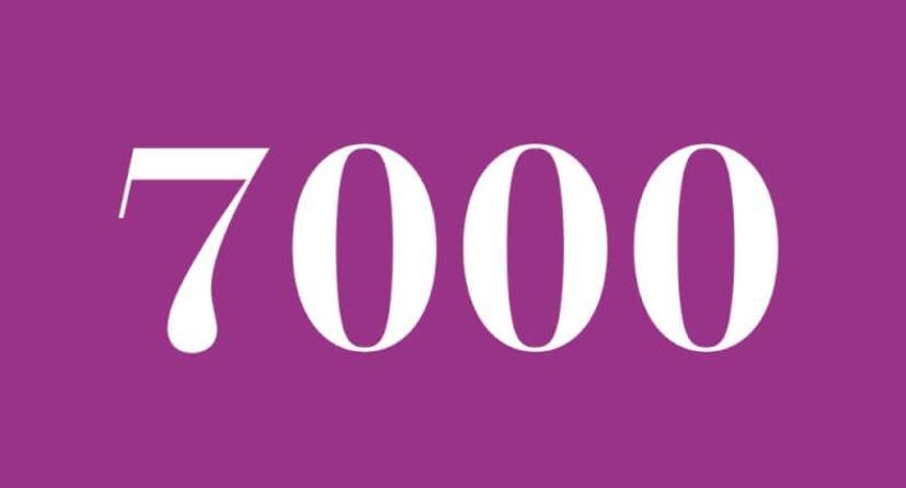 Significado del número 7000: Numerología siete mil