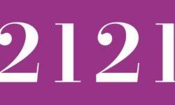 Significado del número 2121: Numerología Dos mil ciento veintiuno