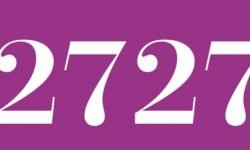 Significado del número 2727: Numerología Dos mil setecientos veintisiete