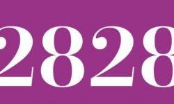 Significado del número 2828: Numerología Dos mil ochocientos veintiocho