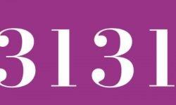Significado del número 3131: Numerología Tres mil ciento treinta y uno