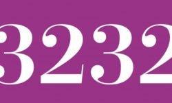 Significado del número 3232: Numerología Tres mil doscientos treinta y dos