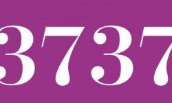 Significado del número 3737: Numerología Tres mil setecientos treinta y siete