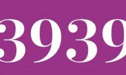 Significado del número 3939: Numerología Tres mil novecientos treinta y nueve