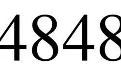 Significado del número 4848: Numerología Cuatro mil ochocientos cuarenta y ocho