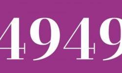 Significado del número 4949: Numerología Cuatro mil novecientos cuarenta y nueve