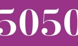 Significado del número 5050: Numerología Cinco mil cincuenta