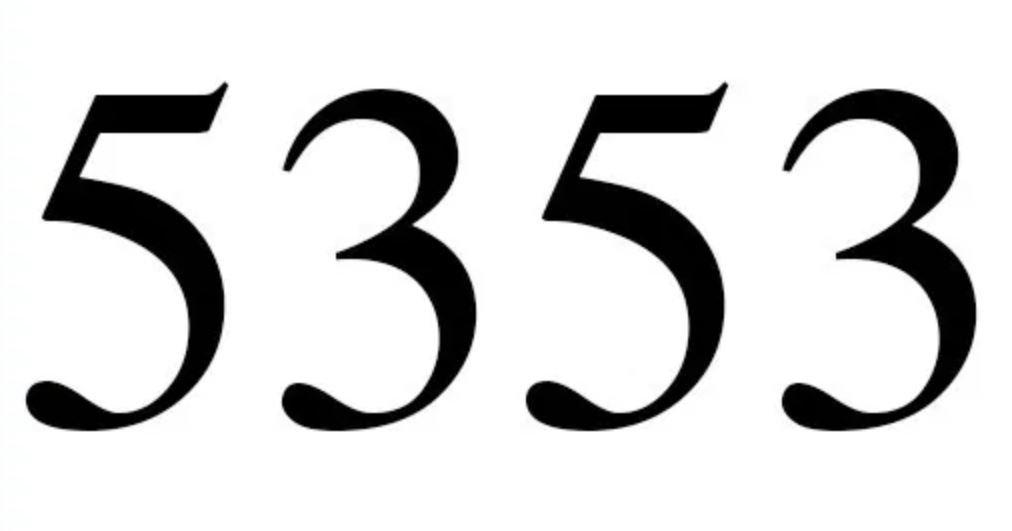 Cinco mil trescientos cincuenta y tres
