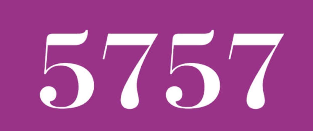 Cinco mil setecientos cincuenta y siete
