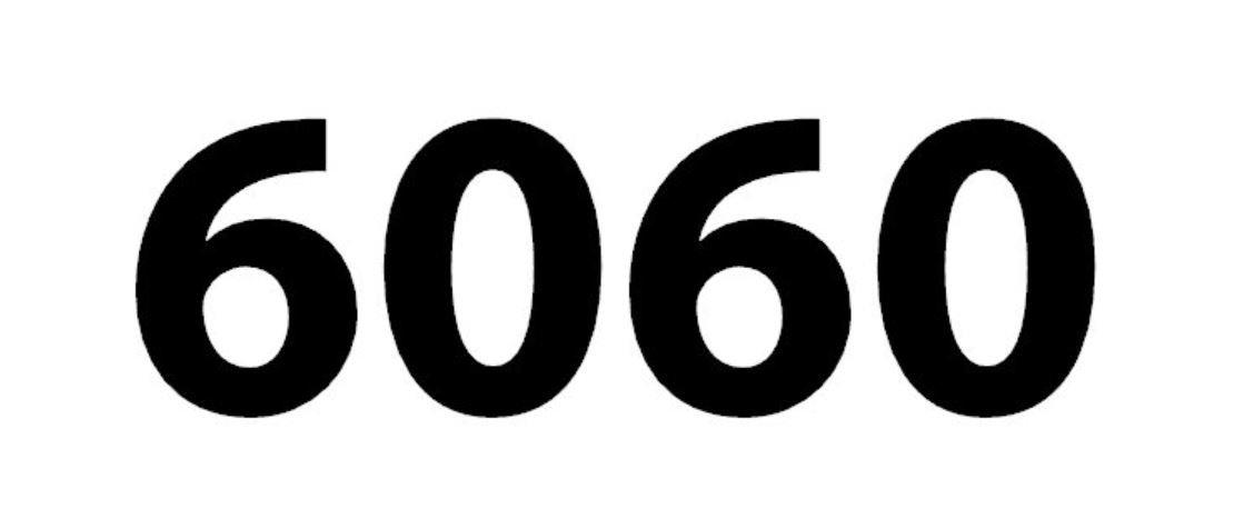 Significado del número 6060