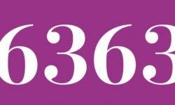 Significado del número 6363: Interpretación de la numerología