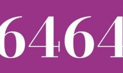 Significado del número 6464: Interpretación de la numerología