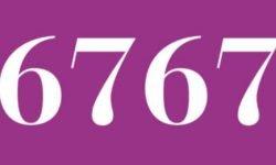 Significado del número 6767: Interpretación de la numerología