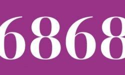 Significado del número 6868: Interpretación de la numerología