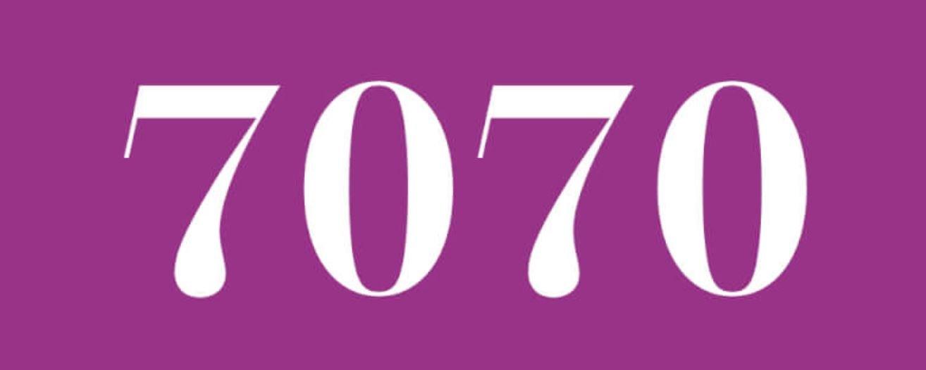 Significado del número 7070