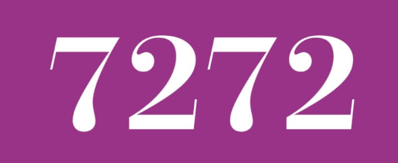Significado del número 7272