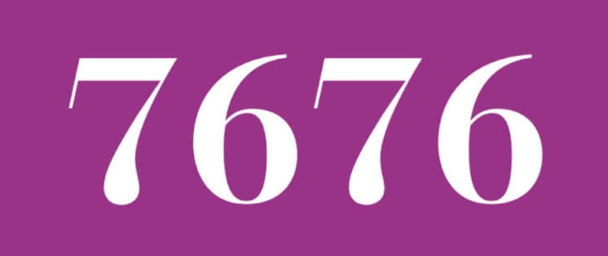 Significado del número 7676
