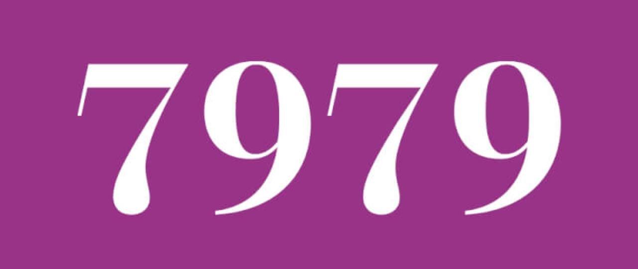 Significado del número 7979