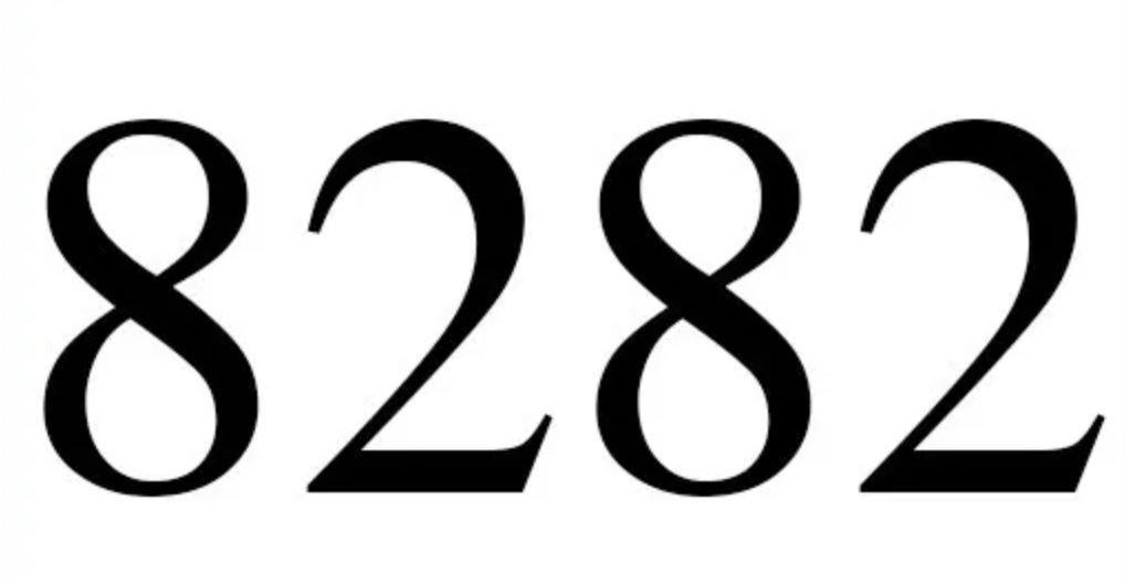Significado del número 8282