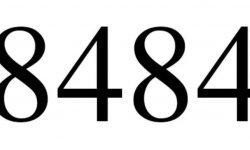 Significado del número 8484: Interpretación de la numerología