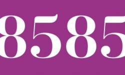 Significado del número 8585: Interpretación de la numerología