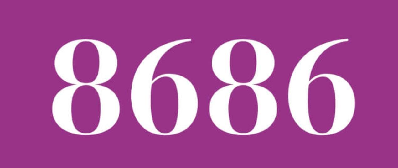 Significado del número 8686
