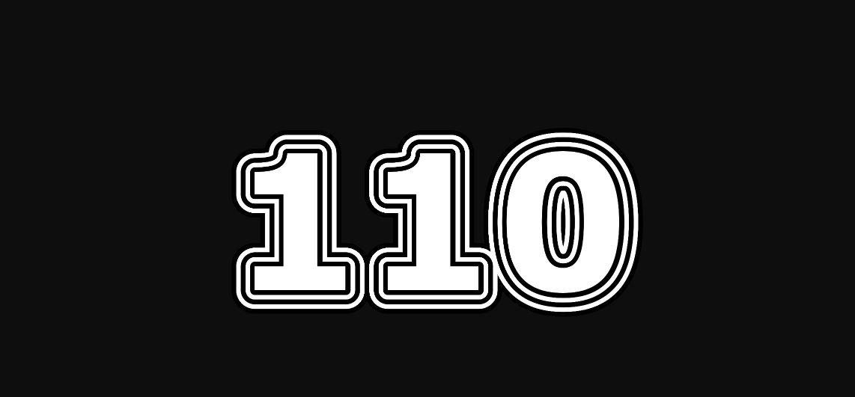 Significado del número 110