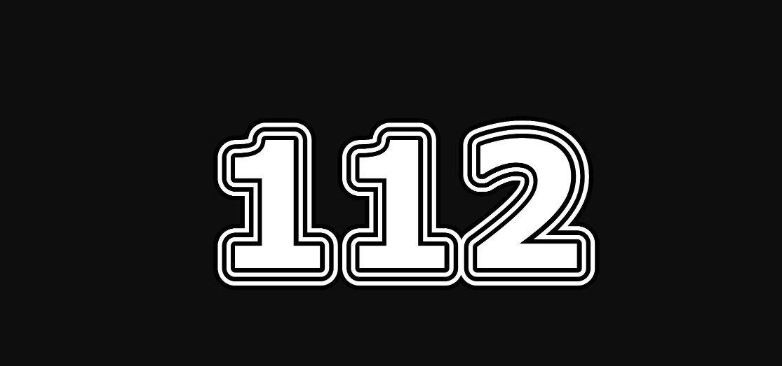 Significado del número 112