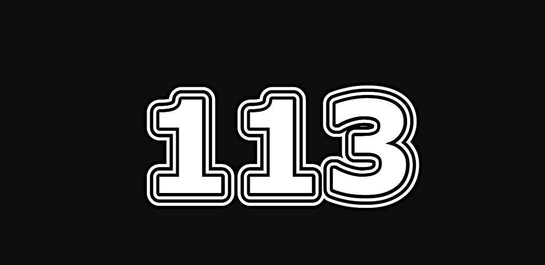 Significado del número 113
