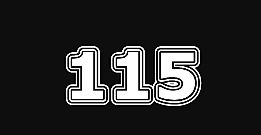 Significado del número 115