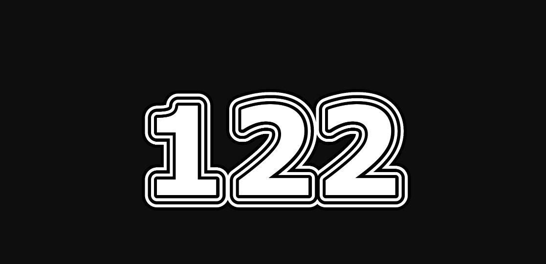 Significado del número 122