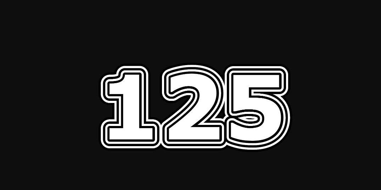 Significado del número 125