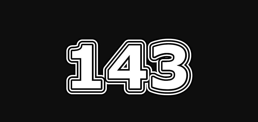 Significado del número 143