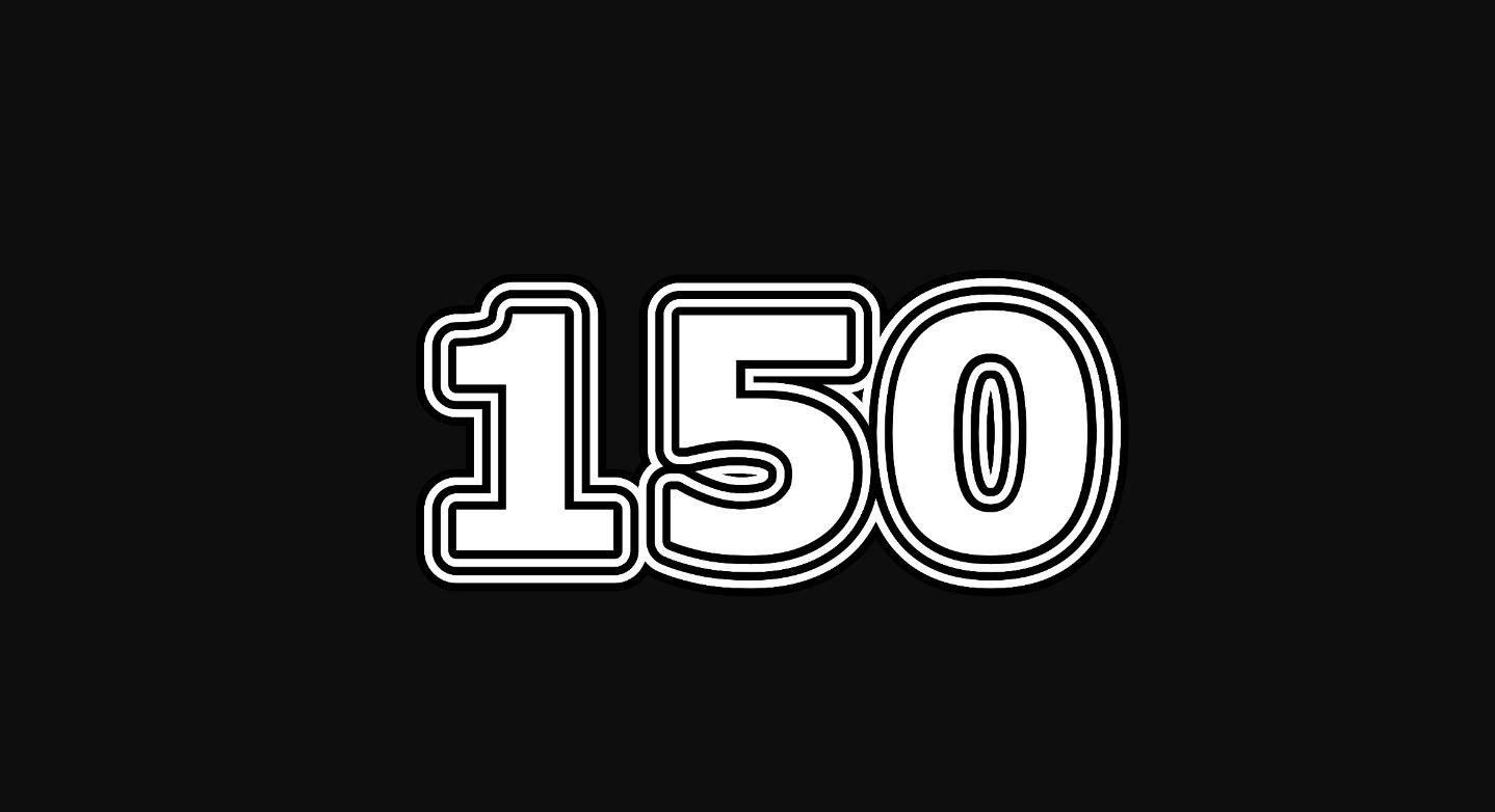 Significado del número 150