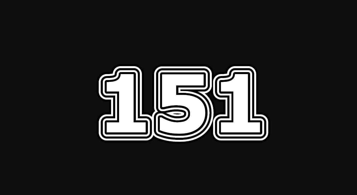 Significado del número 151