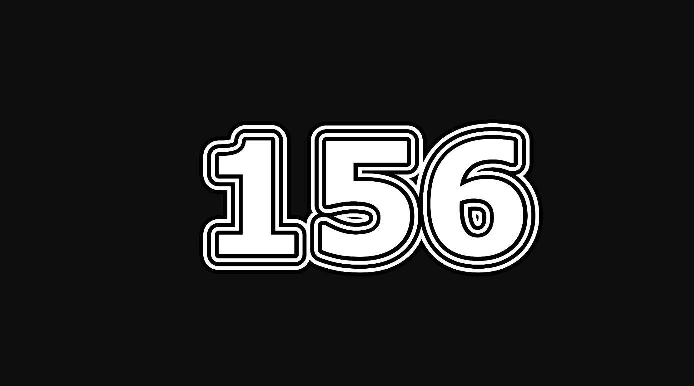 Significado del número 156
