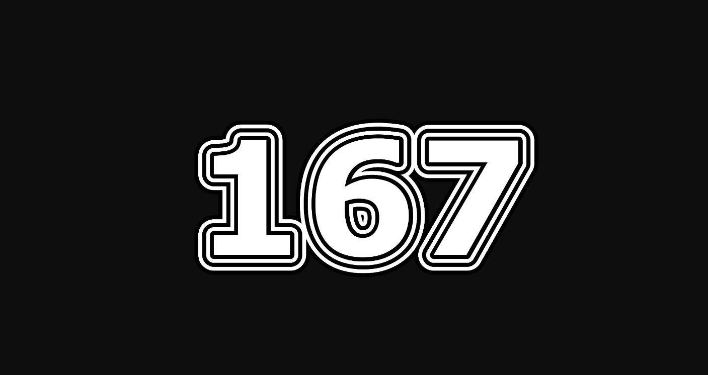 Significado del número 167