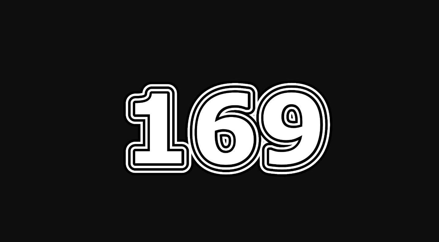 Significado del número 169