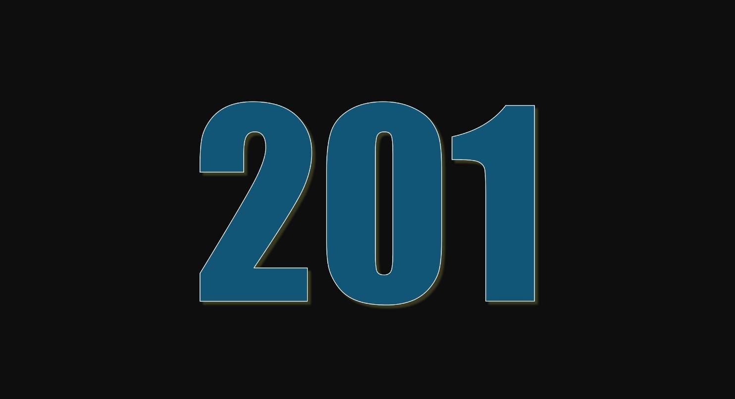 Significado del número 201