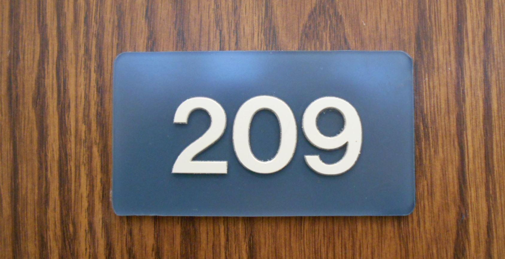 Significado del número 209
