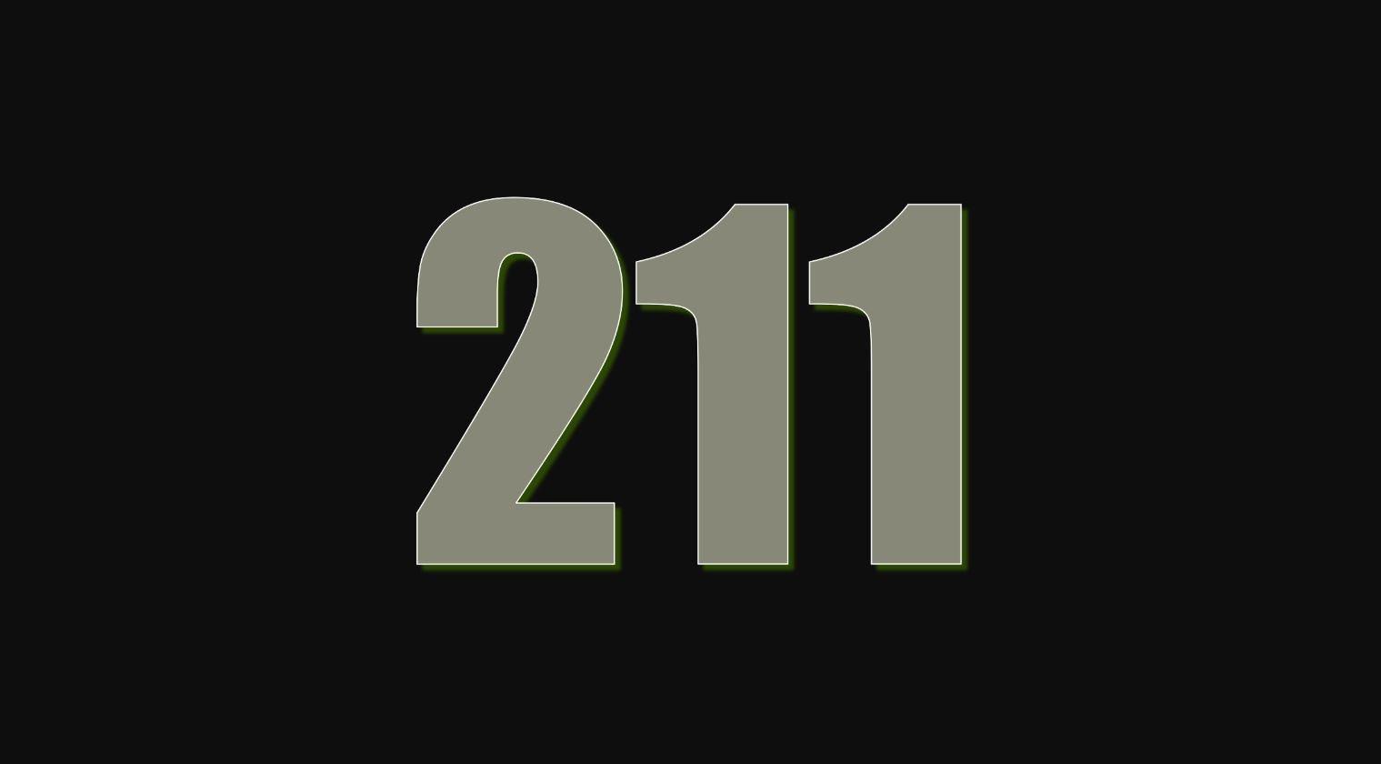 Significado del número 211