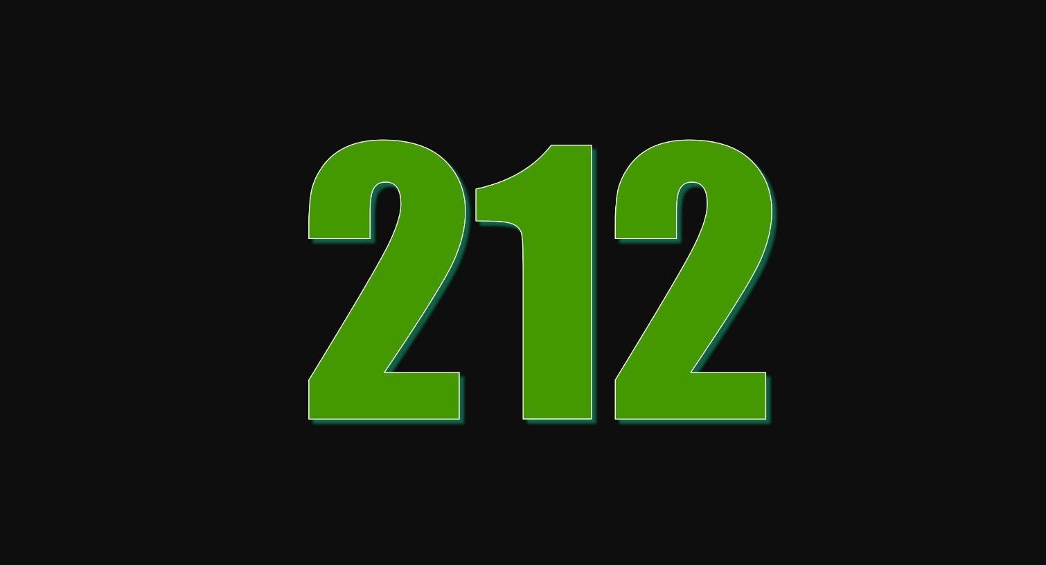 Significado del número 212