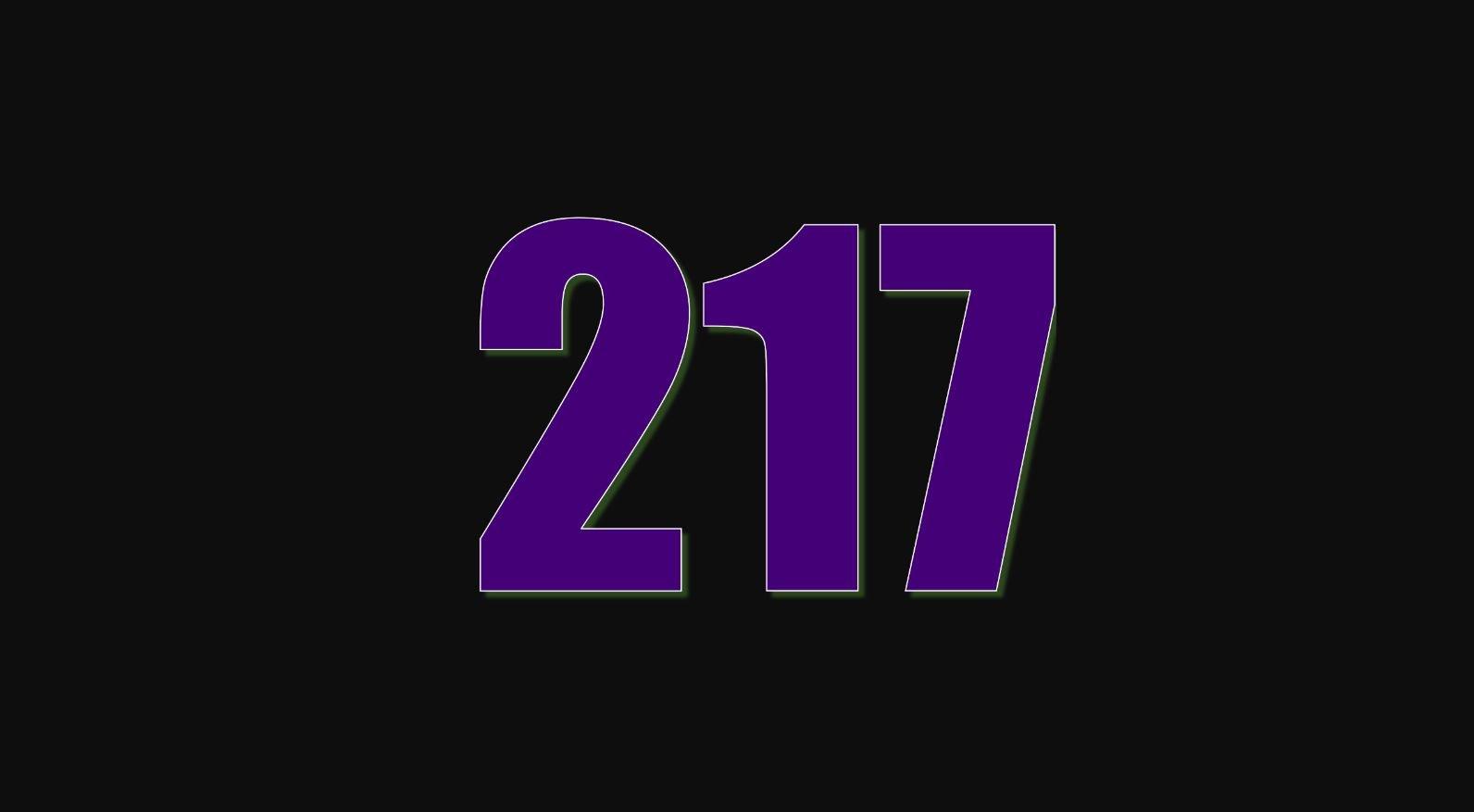 Significado del número 217