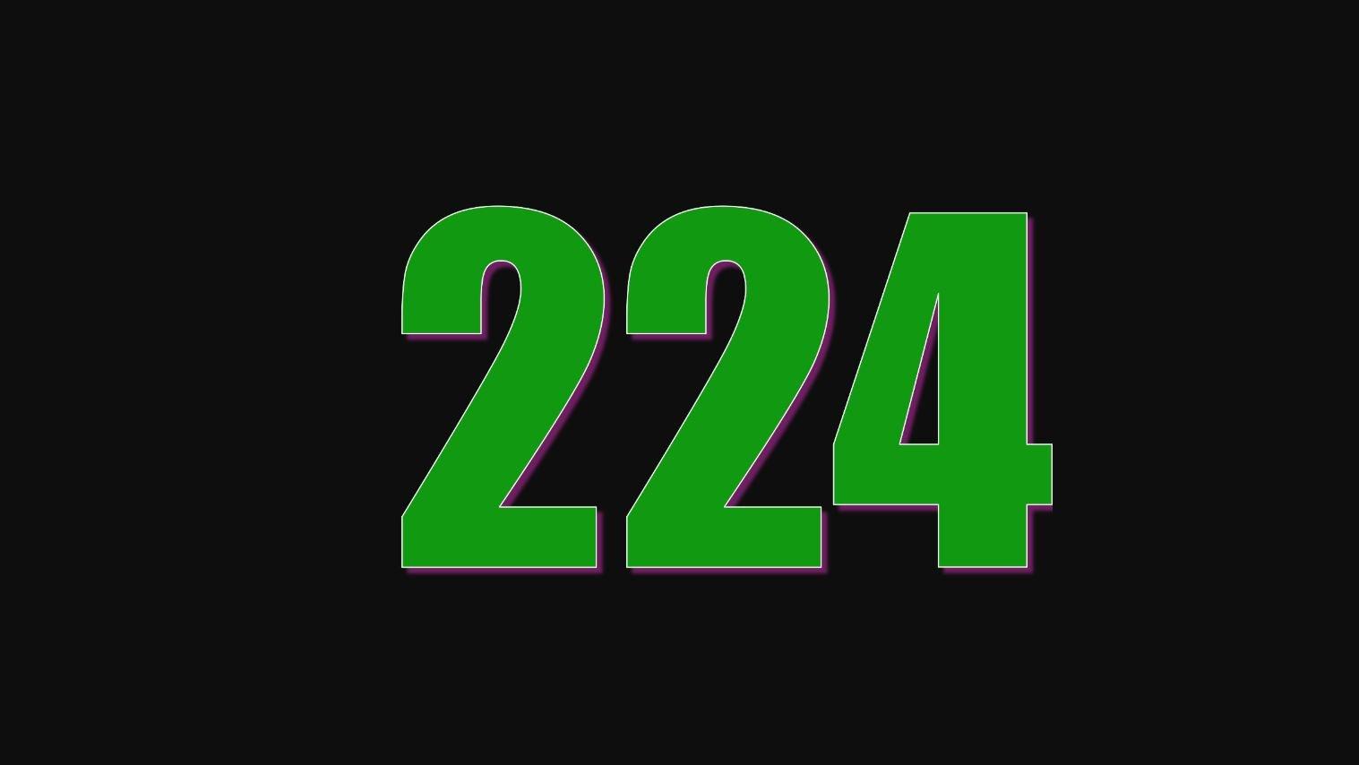 Significado del número 224