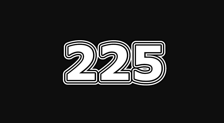 Significado del número 225
