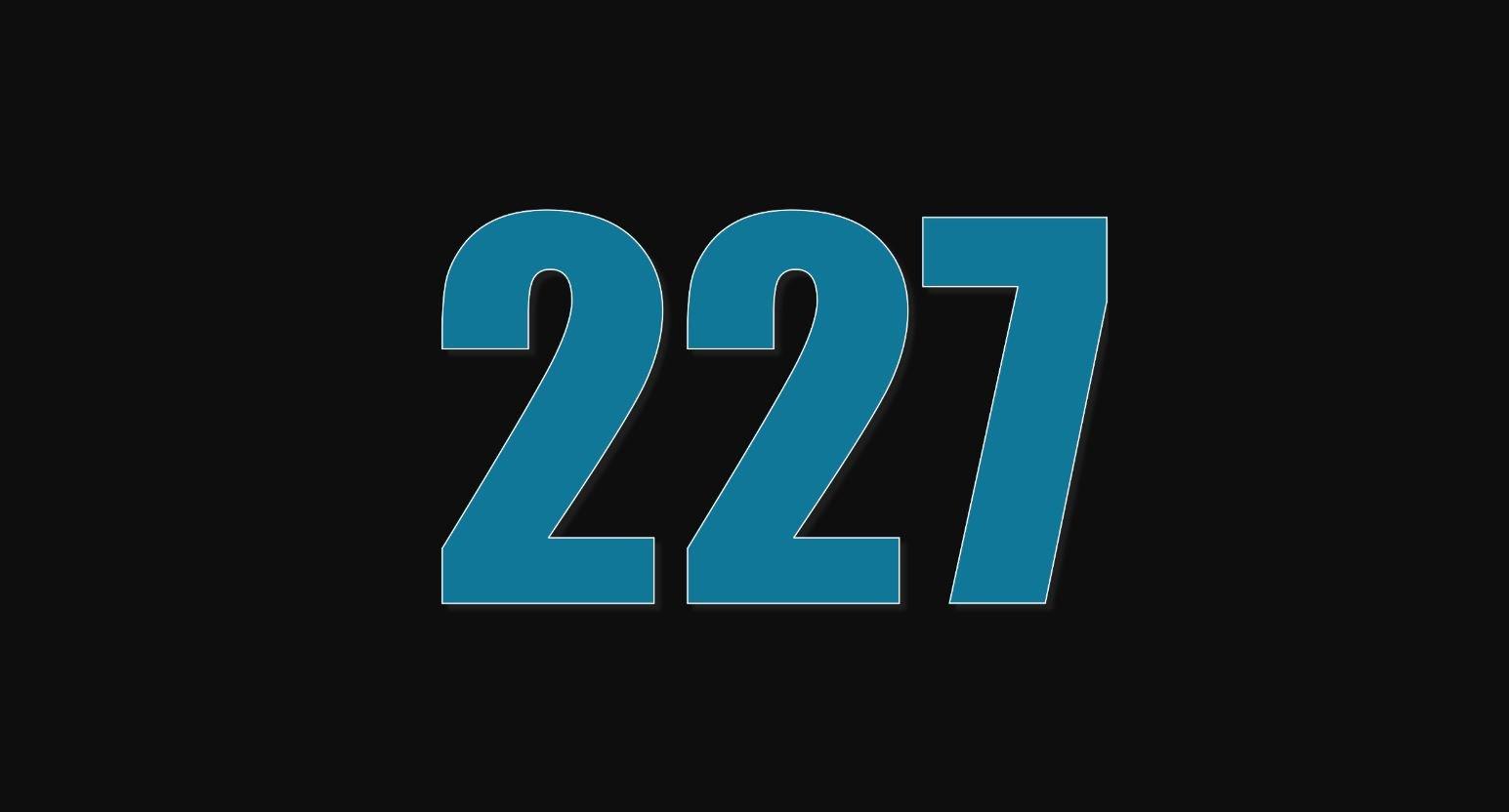 Significado del número 227