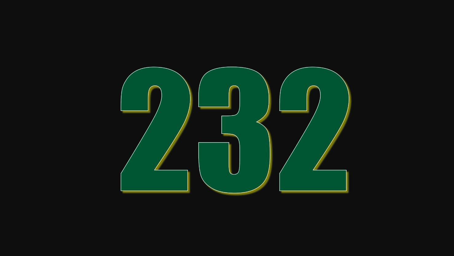 Significado del número 232