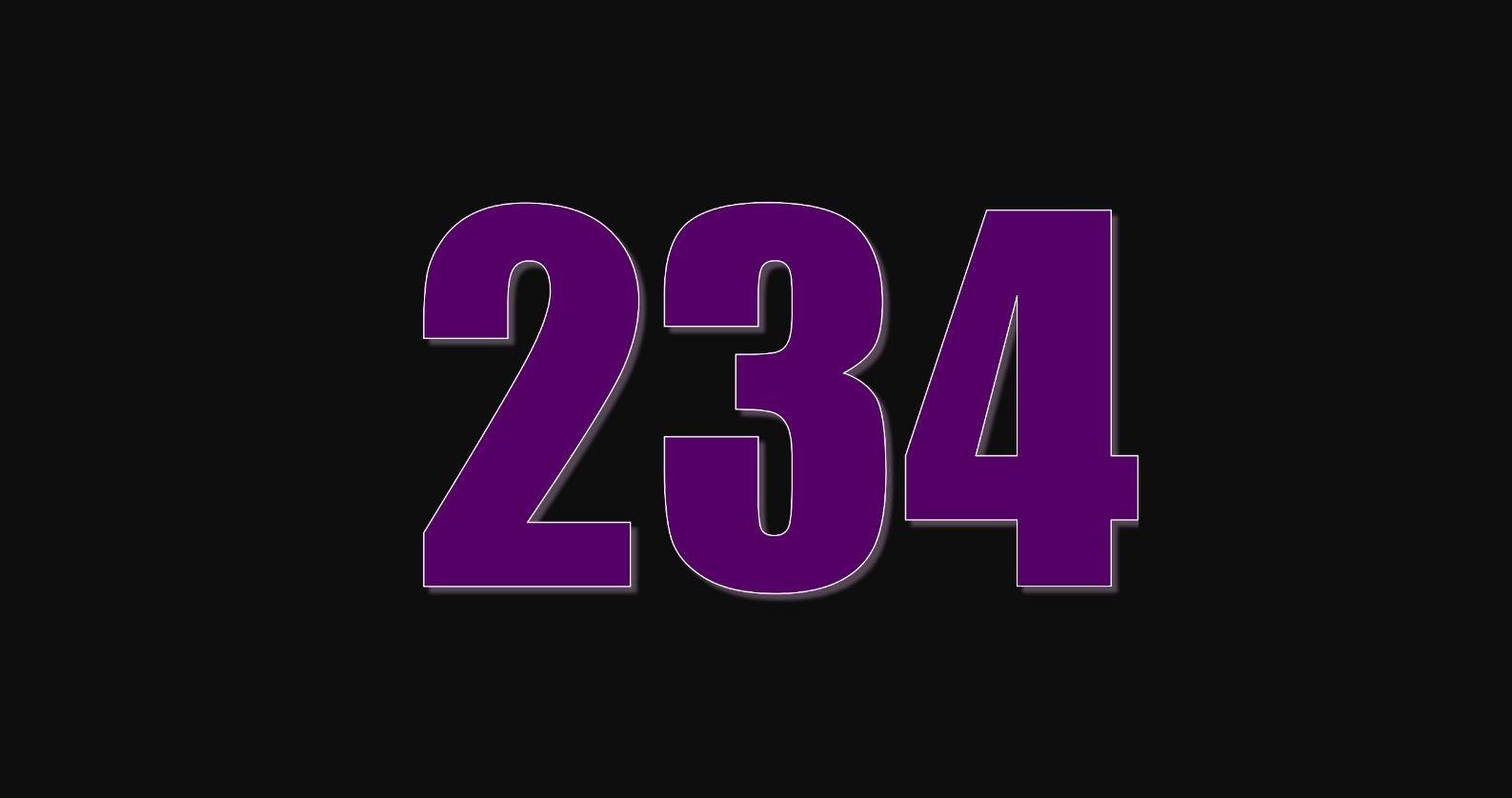 Significado del número 234