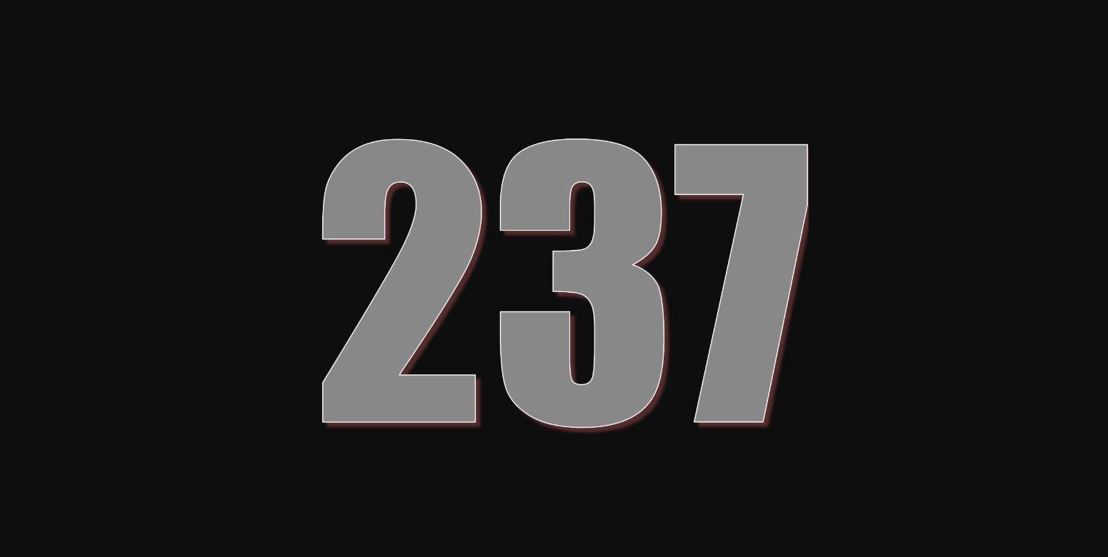Significado del número 237