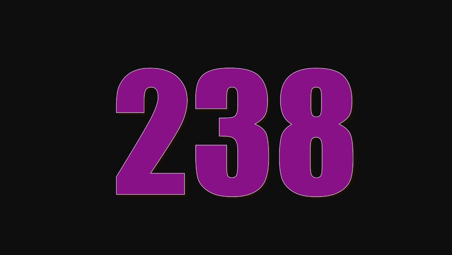 Significado del número 238